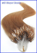 """New 18"""" 20"""" 22"""" 100s Straight 11 Colours Micro Loop Ring 100% Remy Human Hair Extensions 50gr 0.5g/strand for Women Beauty Hot Sale"""