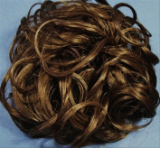 KATIE 18cm Pony Fastener Hair Scrunchie - 10T12 Medium Brown-Light Brown
