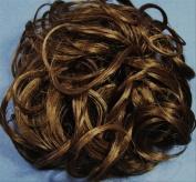 KATIE 18cm Pony Fastener Hair Scrunchie - 10T12 Medium Brown-Light Brown