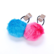 Peppercorn Kids Pompom Hair Tie Set