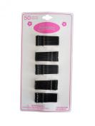 Expressions Hair Pins, Bobby Pins, 50 Per Card, Black, 1009b