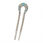 13cm Fashion Lady Alloy Hair Accessory Decorative Hair Pins Stick Fork Hairpin for Long Hair