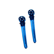 (Ship from USA) YS Park Professional Salon Hair Sectioning L-Clips BLUE Original Pack of TWO