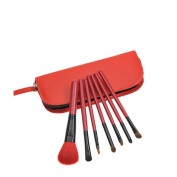 ORVR Professional 7 pcs Makeup Brush Set tools HOT Make-up Toiletry Kit Wool Make Up Brush Set Case