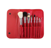 Morphe 8 Piece Candy Apple Red Brush Set - Set 700
