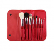 Morphe 8 Piece Candy Apple Red Brush Set - Set 700