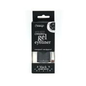 Cherimoya Creamy Waterproof and Smudgeproof Gel Eyeliner - Black w/ Gold Dust 5ml