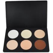 Airblasters Professional 6 Warm Colours Concealer Camouflage Foundation Makeup Contour Palette Face Contouring Kit