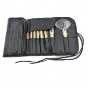 ZENITH FASHION 24Piece Black Superior Professional Soft Cosmetic Make up Brush Set Woman's Toiletry Kit makeup brushes kabuki brush