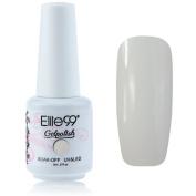 QIMISI Gelpolish Soak-off Gel Nail Polish UV LED Nail Art French White 8ml