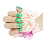BNG UV Colour Glitter Gel #9 Green Emerald 5G Long Lasting Soak Off UV Gel Nail Polish Nail Art Manicure Cosmetic Varnishes