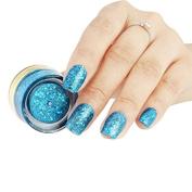BNG UV Colour Glitter Gel #8 Green Emerald 5G Long Lasting Soak Off UV Gel Nail Polish Nail Art Manicure Cosmetic Varnishes