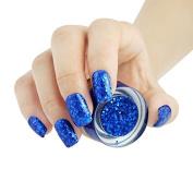 BNG UV Colour Glitter Gel #10 Green Emerald 5G Long Lasting Soak Off UV Gel Nail Polish Nail Art Manicure Cosmetic Varnishes