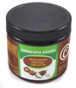 Pure Organic Raw Unrefined Organic Shea Butter, BPA Free Bottle