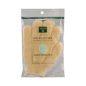 Earth Therapeutics Exfoliating Hydro Gloves Natural -- 1 Pair