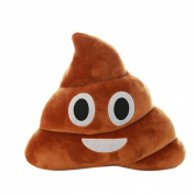 Sankuwen® 1pc Funny Gift, Emoji Poo Shape Pillow Car Home Office Accessory