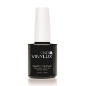 (3 Pack) CND VINYLUX Weekly Top Coat - Clear