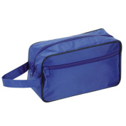 Toiletry Travel / Shaving Bag, Navy