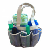 Quick Dry Shower Tote & Mesh Caddy, 7-pocket