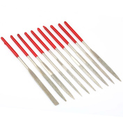 VERY100 Diamond Needle File Set Precision Files Metal Work Craft Jewellery Tools