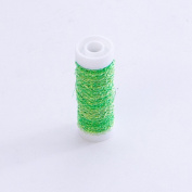 Smithers Oasis Bullion Floristry Wire Reel 25G Lime Green