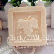 Creativemoldstore 1pcs The Maple Leaf (zx28) Craft Art Silicone Soap Mould Craft Moulds DIY Handmade Soap Mould