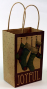 Expressive Designs Kraft Gift Bag - Cub Size - Christmas Stockings