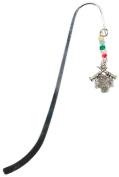 Round Lace Abalone Shawl Pin-
