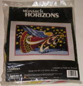 Monarch Horizons Clarissa Longstitch by Roger W. Reinardy 1995 Janlynn