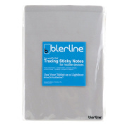 Blerline Tracing Notes 25cm 75 Sheets