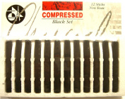 Compressed Charcoal Set Compressed Coloured Pastel Sticks Sets Non Toxic New