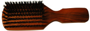 Budd Leather Club Brush, Tan