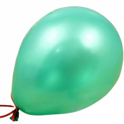 Aimeart Multicolor Pearly Lustre Latex 1.2g Round Balloons For Wedding Party Room Decor, Green