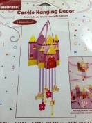 Girls Birthday Princess Castle Hanging Decoration