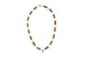 Healing Hazel Hazelwood Women/Teens Necklace Pendant, Clear. Crystal Pendant/Clear/Pearl