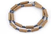 Healing Hazel Hazelwood Men/Teens Necklace, Hematite Beads