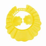 DDLBiz Shampoo Shower Bathing Protect Adjust Soft Cap Hat For Baby