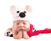 Xinmao Yuanming Newborn Handmade Backkom Crochet Knitted Unisex Baby Cap Outfit Photo Props