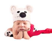 Xinmao Yuanming Newborn Handmade Backkom Crochet Knitted Unisex Baby Cap Outfit Photo Props