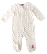 Juicy Couture Baby Long Sleeved Bodysuit Coverall Footies