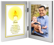 "Godfather Gift ""To My Padrino"" From Godchild - Baptism or Christmas Gift - Add Photo"
