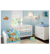 Disney Finding Nemo Day At the Sea 3 Piece Crib Bedding Set