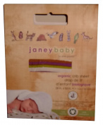 Janey Baby Organic Crib Sheet 100% Organic