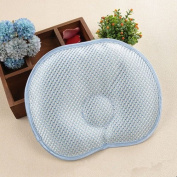 AUCH High-quality Hot Natural Newborn Baby Boy/ Girl Soft Cotton Anti-roll Pillow/ Flat Head Sleeping Positioner Suitable for Summer,Apple-shaped