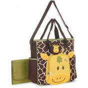Baby Boom Giraffe Face Tote Nappy Bag