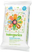 Babyganics Toddler Wipes Unscented 60ct