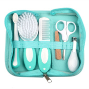 OurWarm 6pcs/Lot Baby Essential Grooming Kit Nail Hair Daily Nurse Home Travel Tool