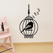 Aiwall 9303 Cage Wall Stickers for Studyroom Living Room Home Decorations Wall Decals Wall Cartoon
