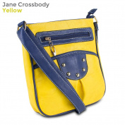Mad Style 317835 Jane Crossbody, Yellow