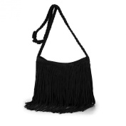 Bao Core Womens Hippie Suede Retro Vintage Fringe Tassle Faux Leather Shoulder Bag Messenger Crossbody Handbag